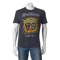 Men's Sublime Stamp Sun Logo Tee