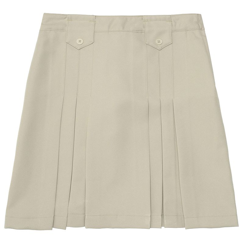Girls Plus Size French Toast School Uniform Pleated Skirt