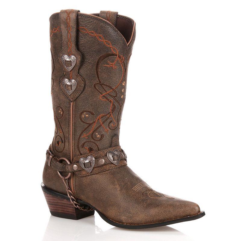 Durango Crush Heartbreaker Distressed Women's Cowboy Boots
