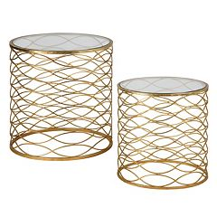 2-piece Zoa Accent Table Set by