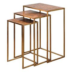 3-piece Copres Nesting Table Set by