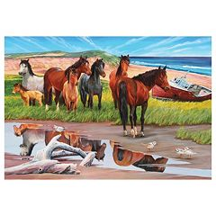 Sable Island Horses 2,000-pc. Jigsaw Puzzle by