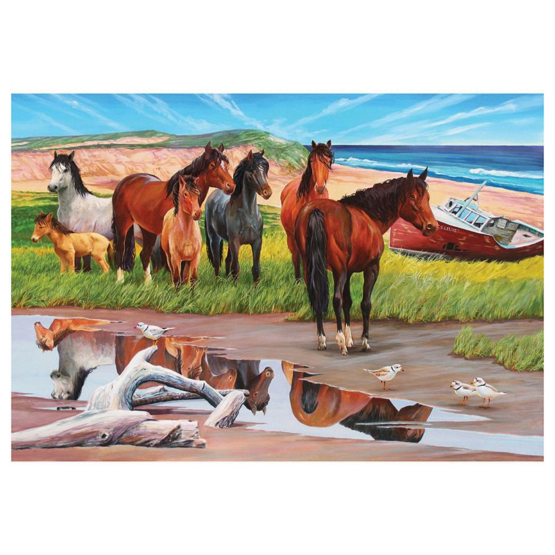 Sable Island Horses 2,000-pc. Jigsaw Puzzle