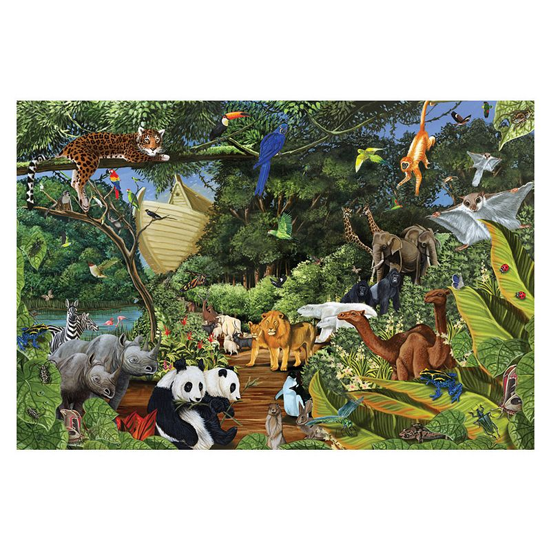 Noah's Gathering Two by Two 2,000-pc. Jigsaw Puzzle