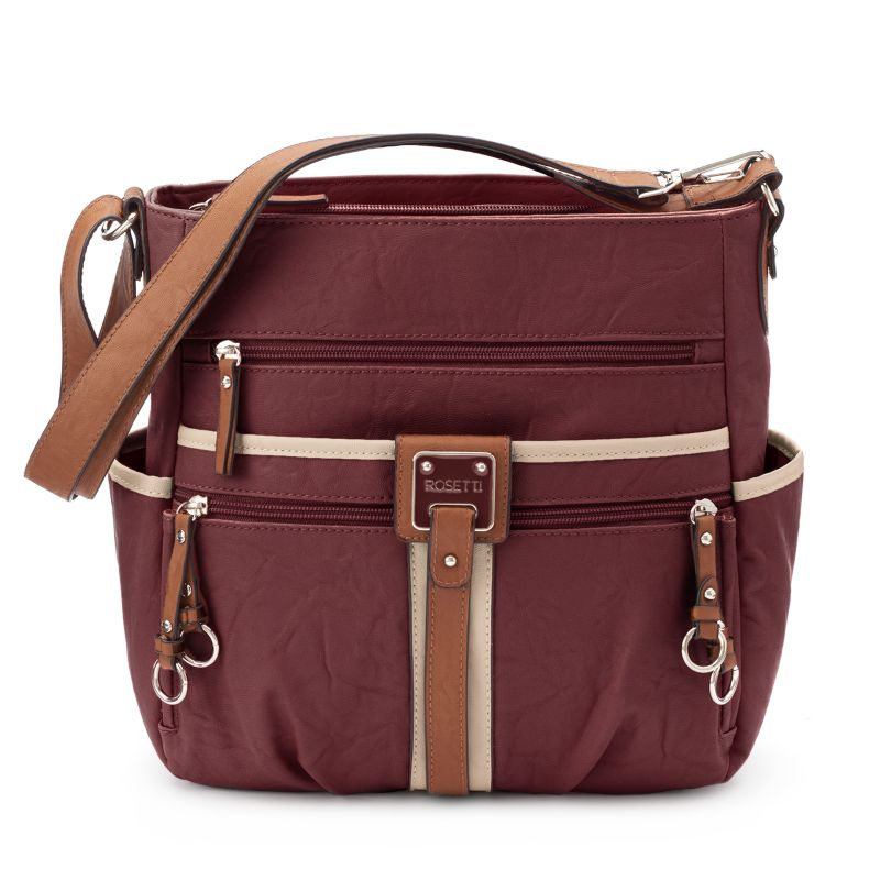 Rosetti Double-Duty Bucket Bag, Women's, Dark Red