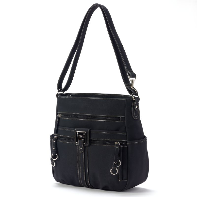 Rosetti Double-Duty Bucket Bag, Women's, Black