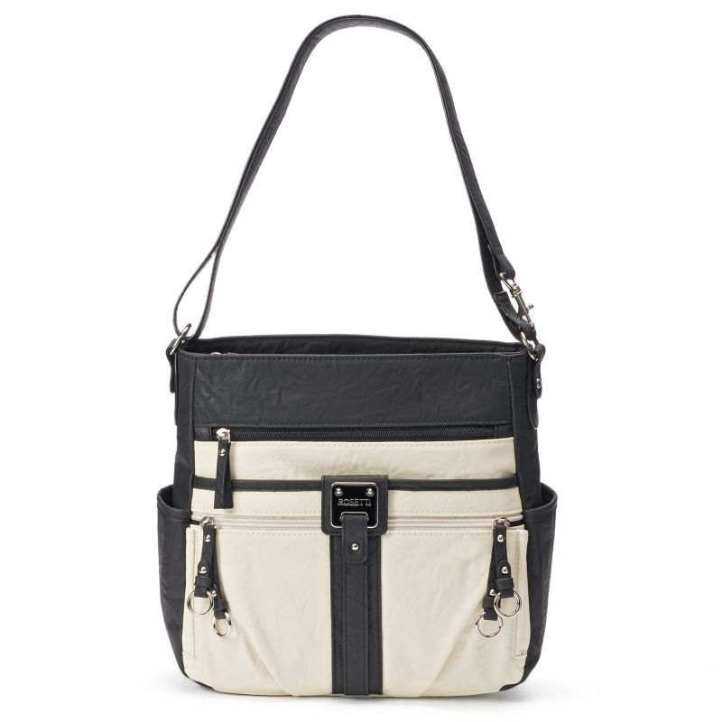 Rosetti Double-Duty Bucket Bag, Women's, Grey (Charcoal)
