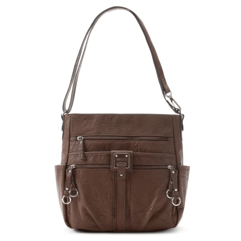 Rosetti Double-Duty Bucket Bag, Women's, Dark Brown