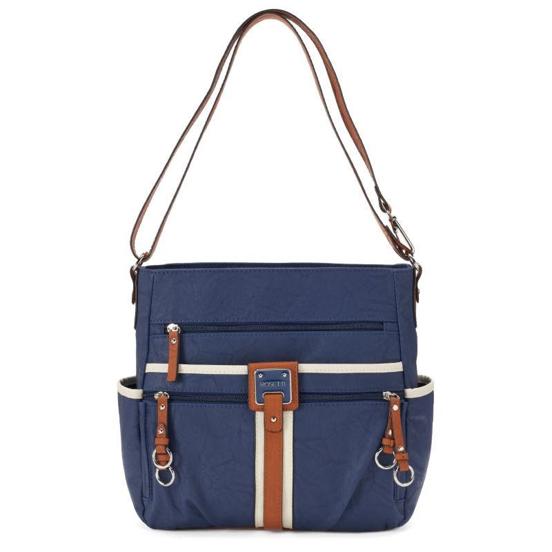 Rosetti Double-Duty Bucket Bag, Women's, Blue (Navy)