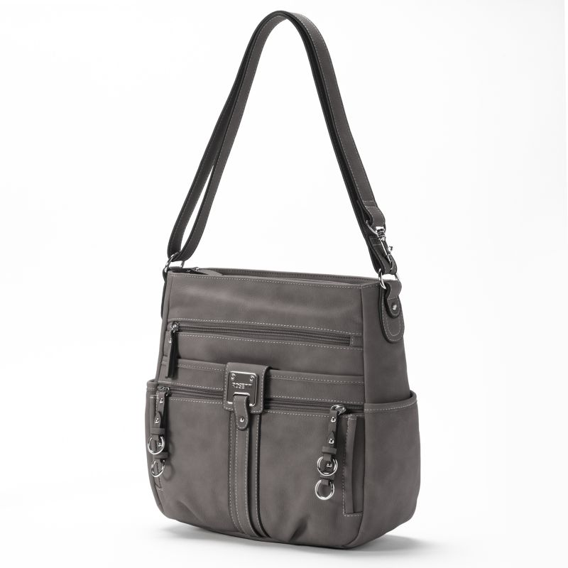 Rosetti Double-Duty Bucket Bag, Women's, Med Grey