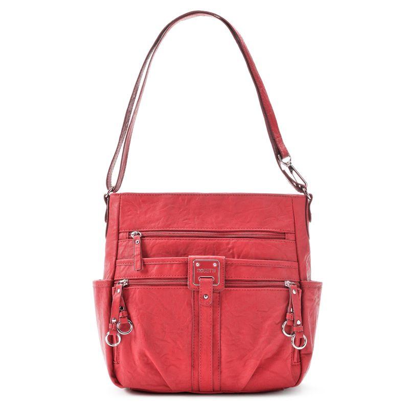 Rosetti Double-Duty Bucket Bag, Women's, Med Red
