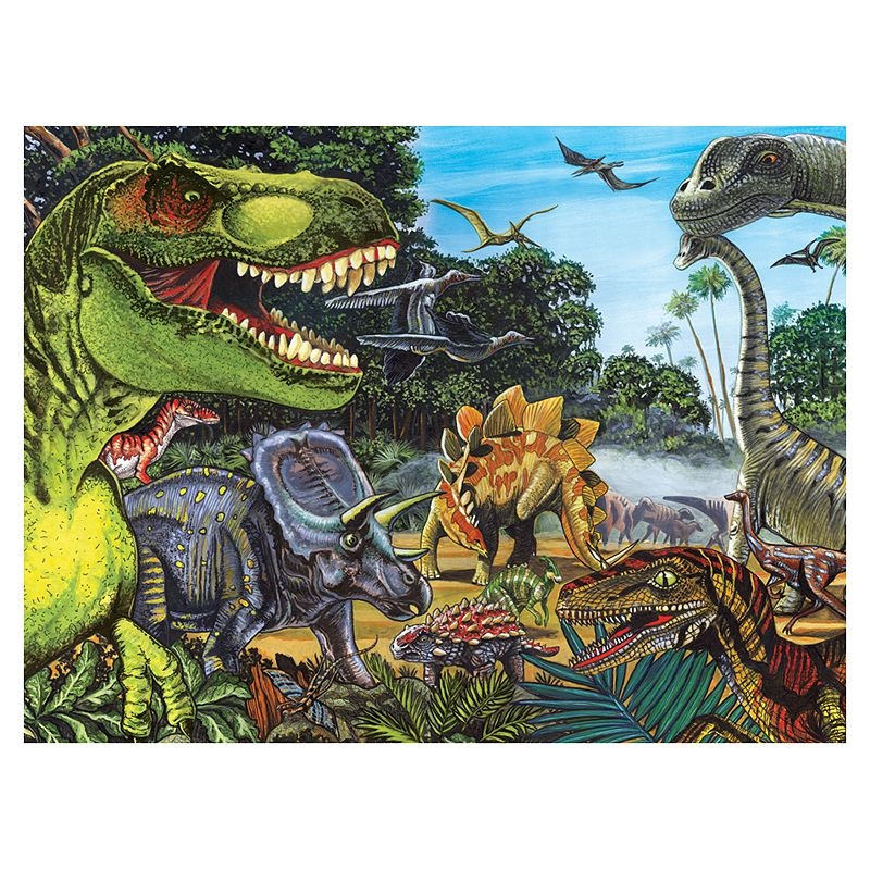 Dinosaur Land 400-pc. Jigsaw Puzzle