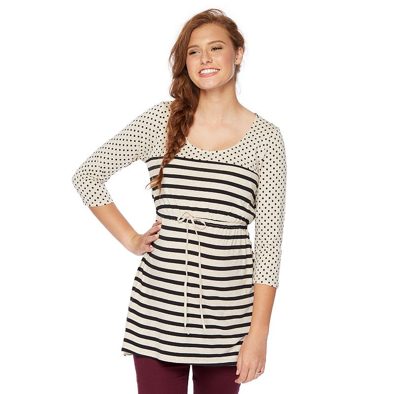 Maternity Oh Baby by Motherhood™ Striped Babydoll Top