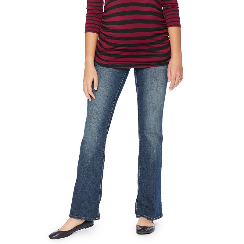Maternity Oh Baby by Motherhood™ Mid-Belly Bootcut Jeans