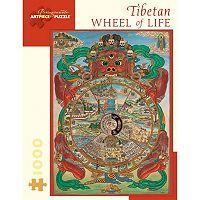 Pomegranate Tibetan Wheel of Life 1000-pc. Jigsaw Puzzle
