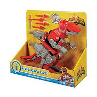 Fisher-Price Imaginext Power Rangers Red Ranger & T-Rex Zord
