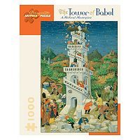 Pomegranate The Tower of Babel 1,000-pc. Jigsaw Puzzle