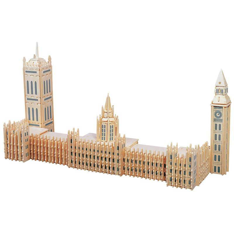 Big Ben 142-pc. 3D Wooden Puzzle by Puzzled