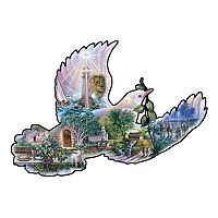 SunsOut Dove of Hope 1,000-pc. Shaped Jigsaw Puzzle