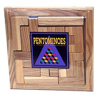 Pentominoes Brainteaser Puzzle by Square Root