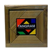 Tangram Brain Teaser Puzzle by Square Root