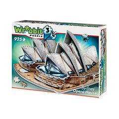 Sydney Opera House 925-pc. 3D Puzzle by Wrebbit by