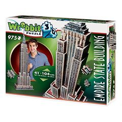 Empire State Building 975-pc. 3D Puzzle by Wrebbit by