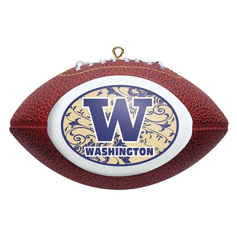Washington Huskies Football Christmas Ornament