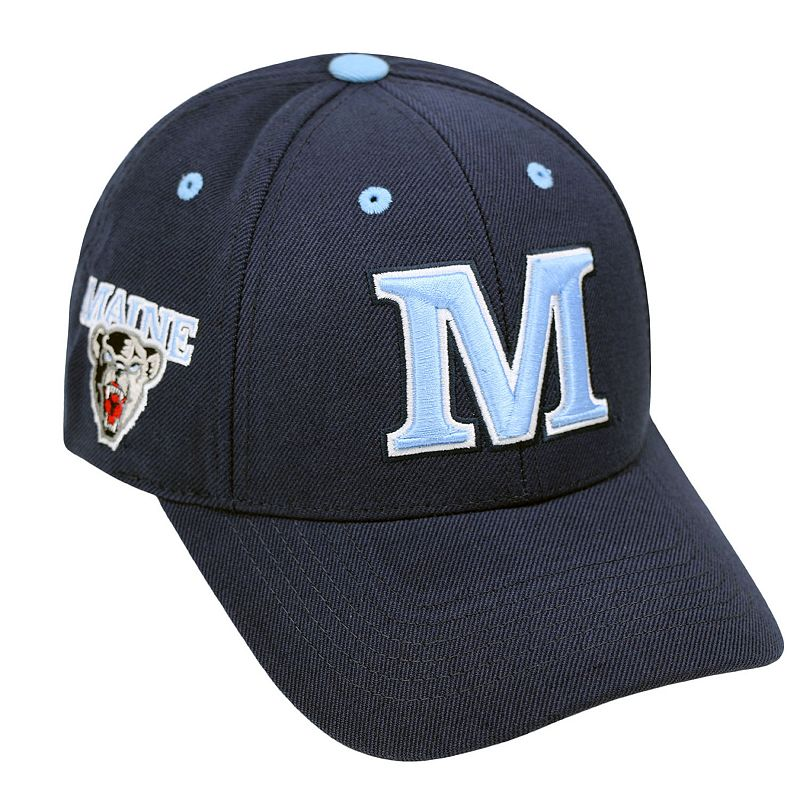 Adult Top of the World Maine Black Bears Triple Threat Adjustable Cap
