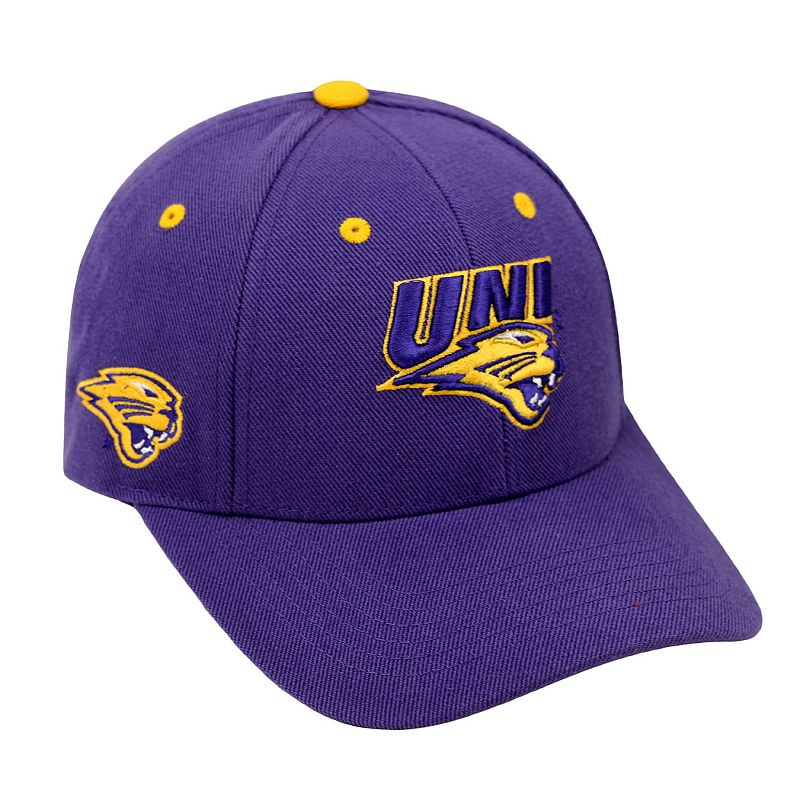 Adult Top of the World Northern Iowa Panthers Triple Threat Adjustable Cap