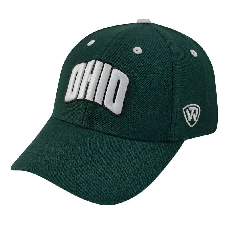 Adult Top of the World Ohio Bobcats Triple Threat Adjustable Cap