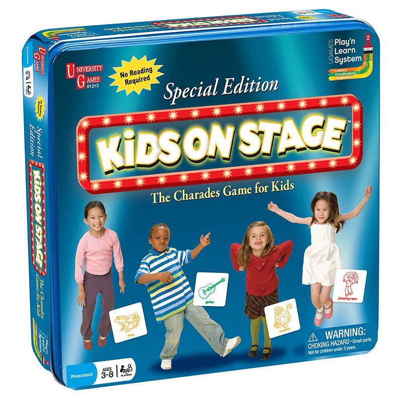 University Games Kids On Stage Special Edition Game