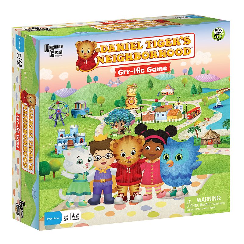 University Games Daniel Tiger's Neighborhood Grr-ific Game