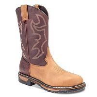 Rocky Original Ride Branson Roper Men's Steel-Toe Western Work Boots