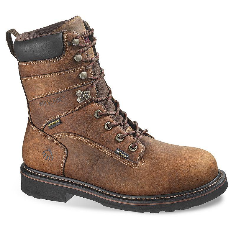 Wolverine Brek Men's Waterproof 8-in. Work Boots