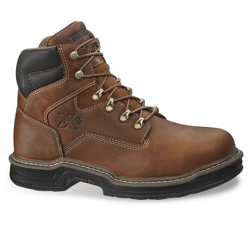 Wolverine Raider Men's Steel-Toe Work Boots