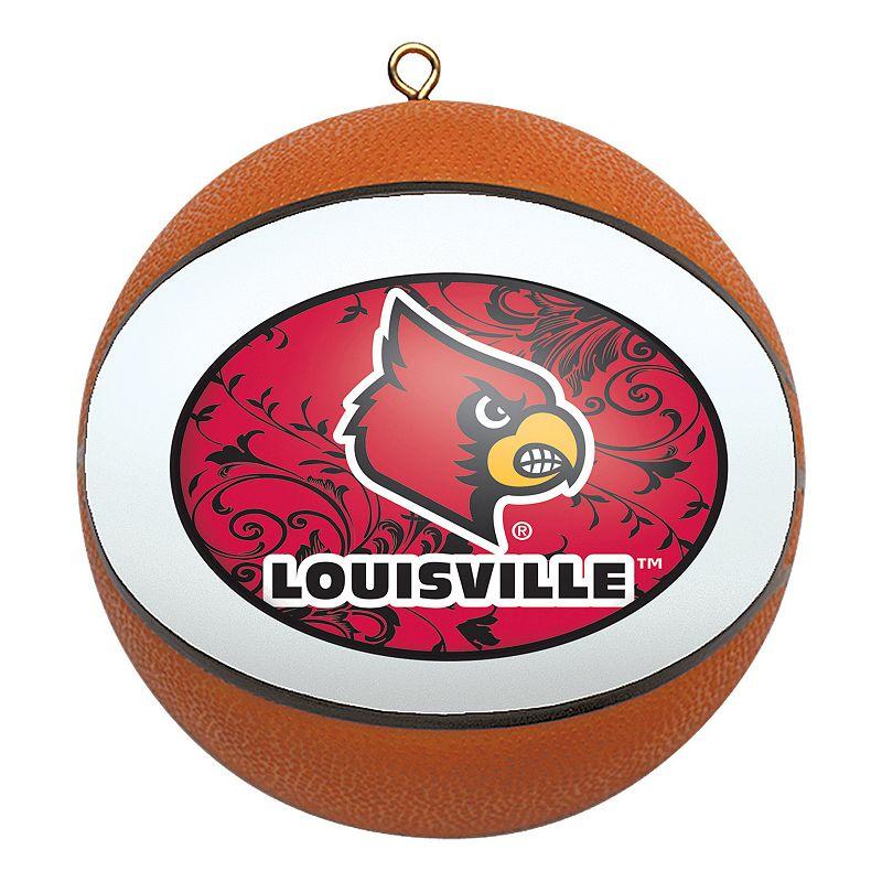 Louisville Cardinals Basketball Christmas Ornament