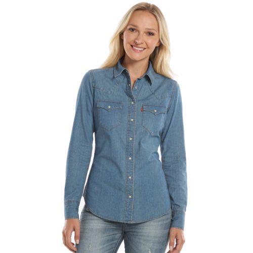 Levi's Classic Denim Shirt - Women's