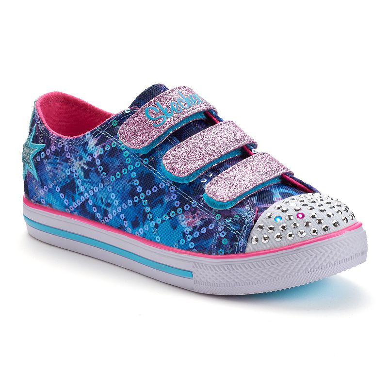 Skechers Twinkle Toes Chit Chat Dazzle Days Girls' Light-Up Sneakers