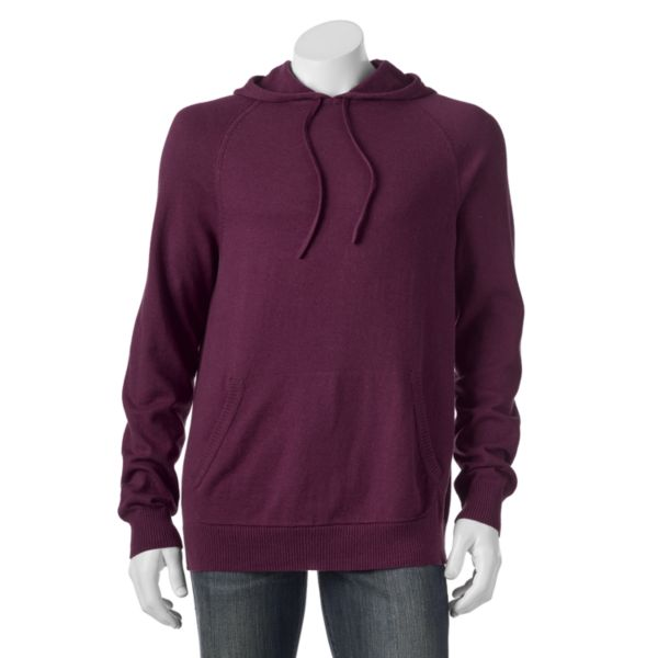 Men's SONOMA Goods for Life™ ¨ Classic-Fit Solid Fine Gauge Pullover Hoodie