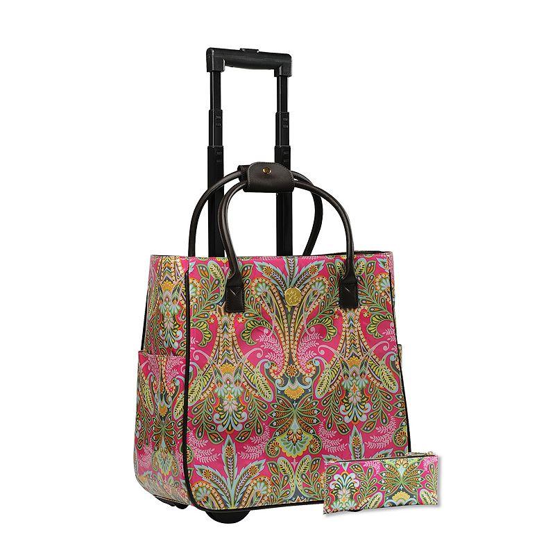 Josephine Kimberling 2-piece Caravan Dreams Laptop Roller Bag & Pencil Case Set