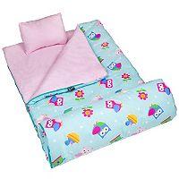 Wildkin Olive Kids Pattern Original Sleeping Bag - Kids