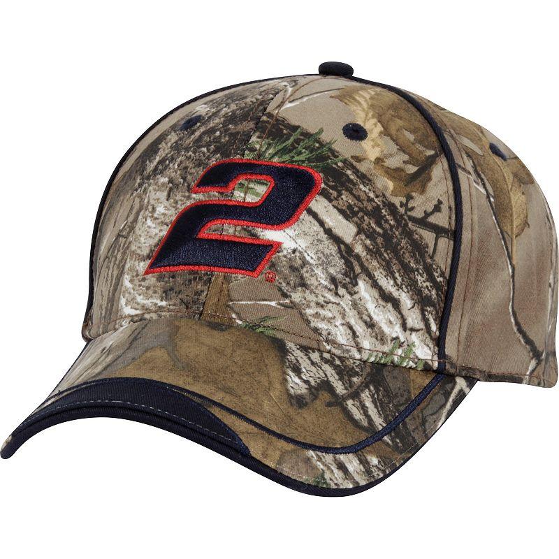 Adult Brad Keselowski Camouflage Cap