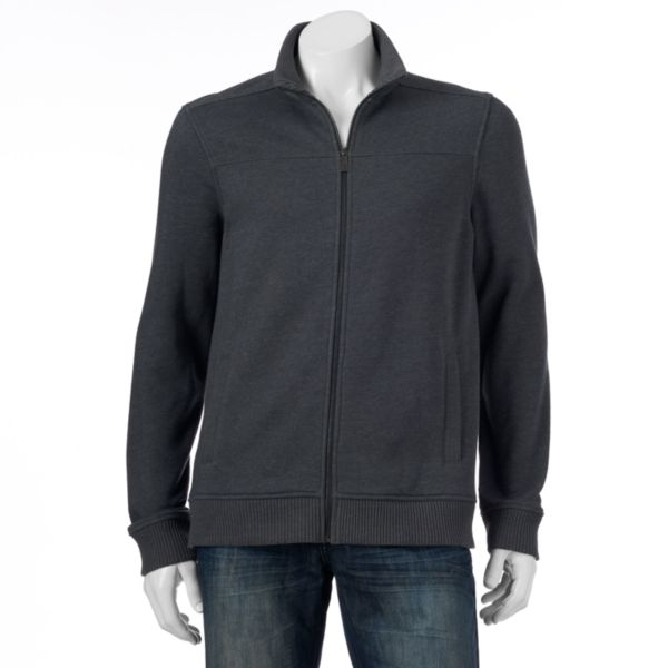 Men's Apt. 9 Zip-Front Sweater Jacket