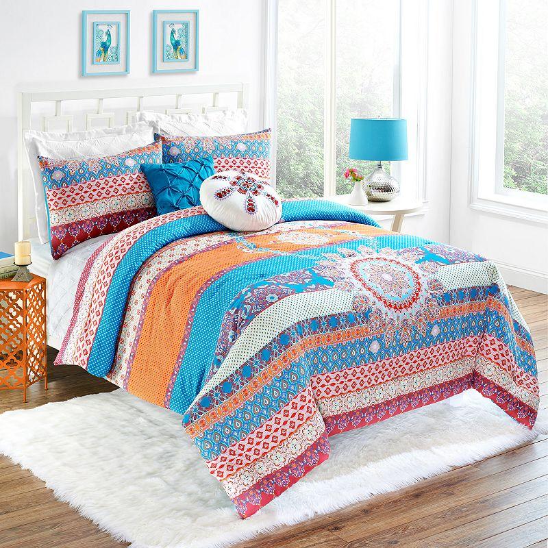 Vue Vista Reversible Comforter Set