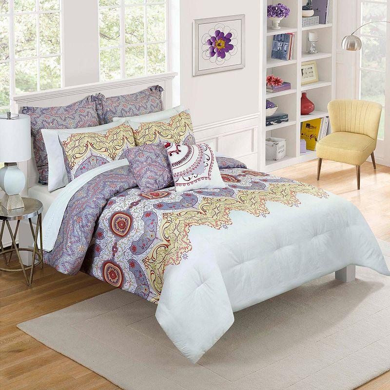Vue Cordova Reversible Comforter Set