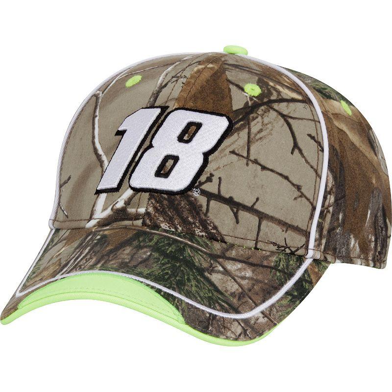 Adult Kyle Busch Camouflage Cap