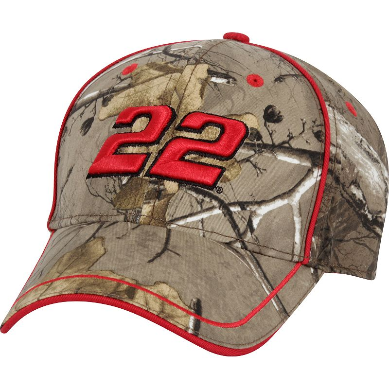 Adult Joey Logano Camouflage Cap