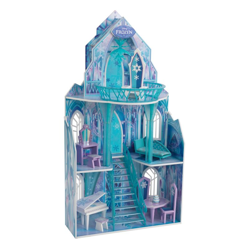 Disney's Frozen Ice Castle Dollhouse by KidKraft, Multicolor