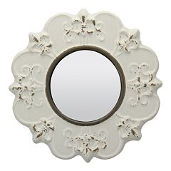 Stonebriar Collection Fleur-de-Lis Wall Mirror by
